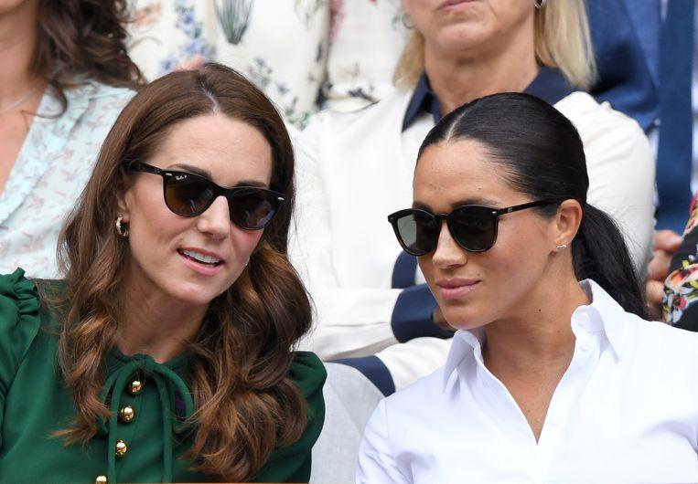 Kate en Meghan Beeld Getty Images