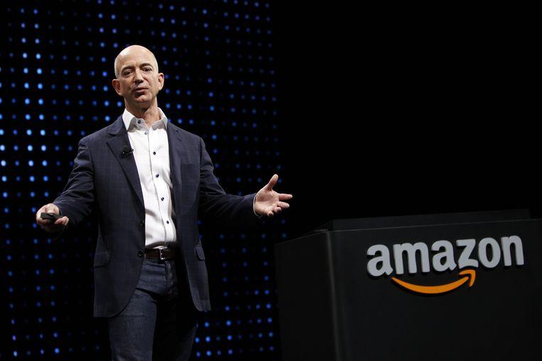 Jeff Bezos, CEO van Amazon. Beeld BELGAIMAGE