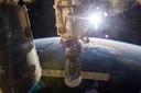 Het internationale ruimtestation ISS.