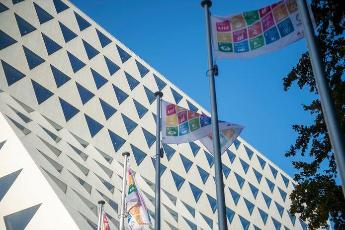 De SDG-vlag.