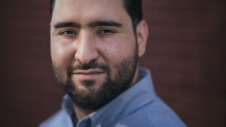 Abdelhamid Idrissi: 'Ik schrok me kapot van wat leerlingen vertelden.' Beeld Marc Driessen