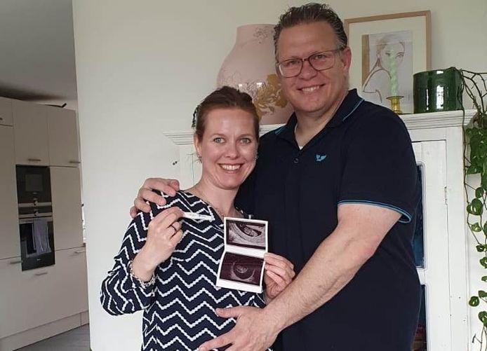 Linda en Ivan Kraan uit Boskoop verwachten half december hun negende kind.