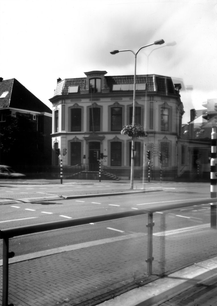 De top van het Utrechtse verzet werd opgepakt in dit gebouw. Jo van Koeverden ontsprong de dans Beeld Steven van Koeverden