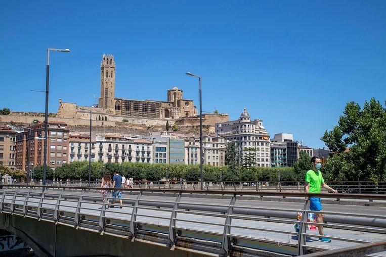 Stad Lleida, in Segrià. Beeld EPA