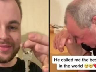 """""""Je hebt je hele leven gewerkt, nu kan je op pensioen"""": Jamie (24) verrast zijn vader door volledige hypotheek van zijn huis af te betalen"""
