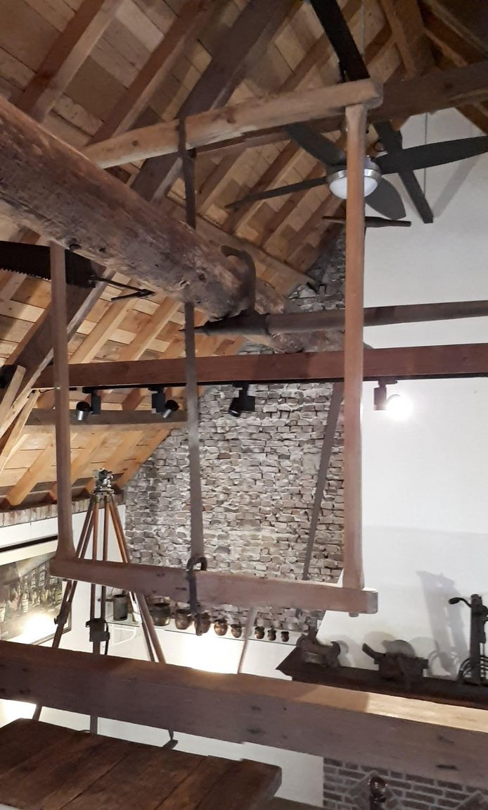 De berdzaag is ook in het museum te zien.