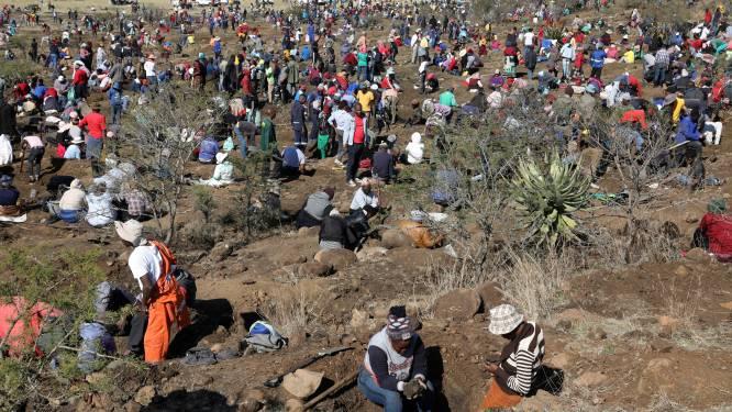 Rush op diamanten in arme Zuid-Afrikaanse regio, maar edelstenen blijken kwarts te zijn
