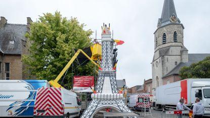 Bornem hangt Eiffeltoren vol duivelse drietanden