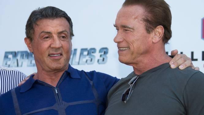 """Stallone: """"Schwarzenegger, je bent een geweldige vijand en een nog betere vriend"""""""