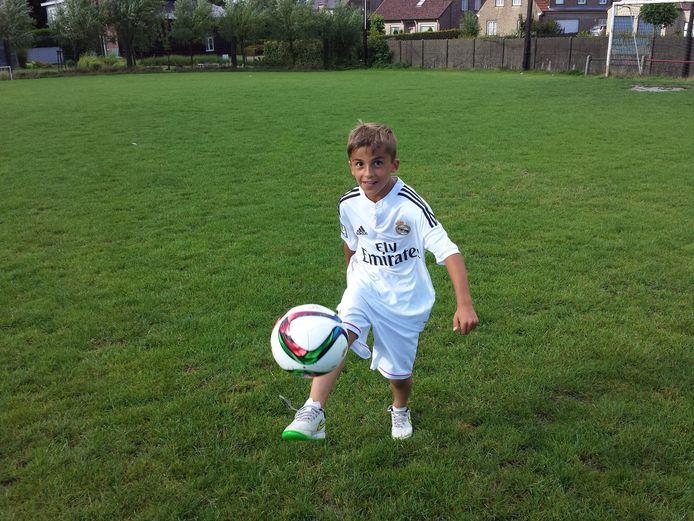 Jérôme gaat in de finale zijn uiterste best doen om een meet and greet met de sterren van Real Madrid te winnen.