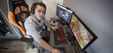Gamer Robbin (20) doet vanuit zijn slaapkamer gooi naar wereldtitel
