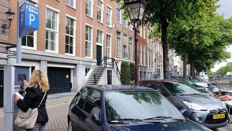 De parkeerboete moet omhoog, zodat die niet goedkoper wordt dan de prijs van een dagkaartje. Beeld ANP