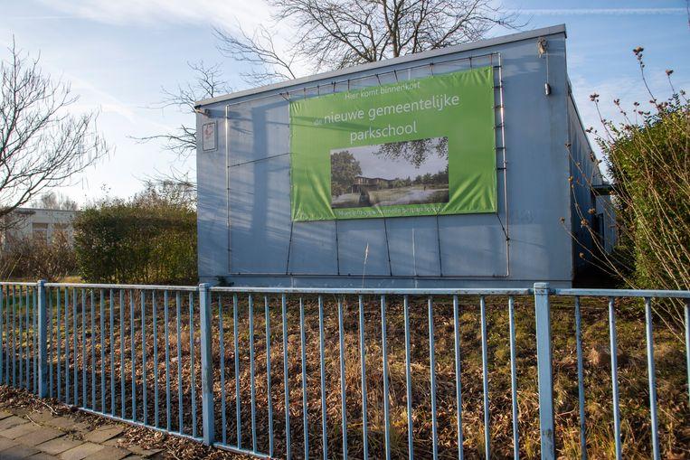 Op de terreinen van het vroegere Lucerna College in Melle komt een nieuwe gemeentelijke 'Parkschool' voor het basisonderwijs.
