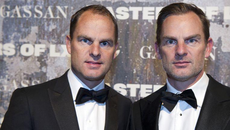 Frank (l) en Ronald de Boer. Beeld anp