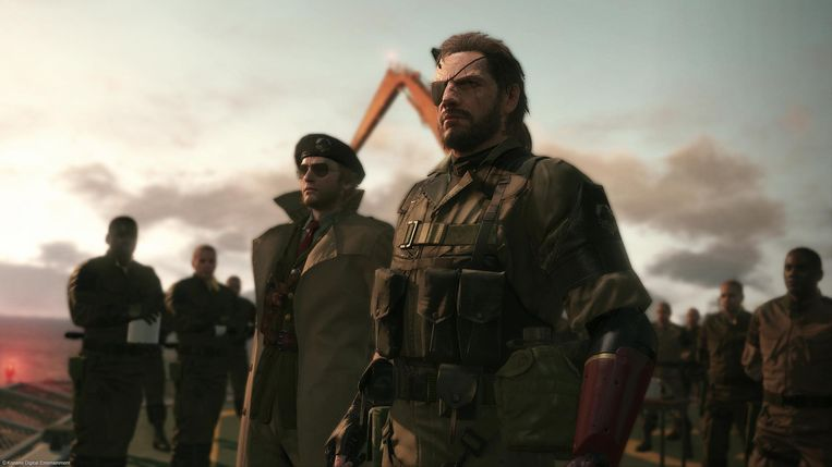 Scène uit 'Metal Gear Solid V: The Phantom Pain' Beeld Konami