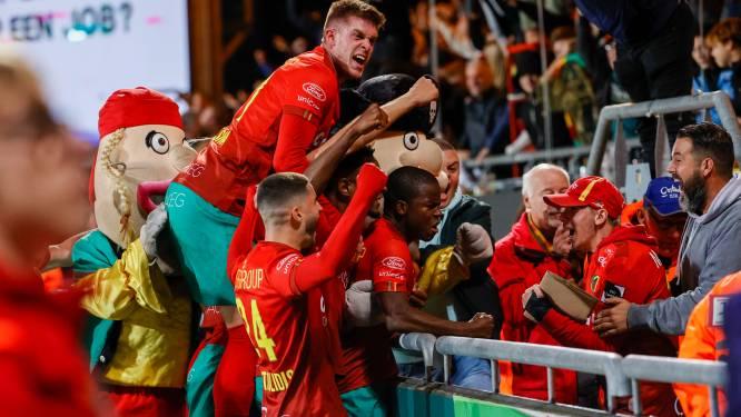"""Alfons Amade (KV Oostende) lukt winning goal tegen Cercle: """"Ik kom nochtans niet vaak mee naar voren"""""""