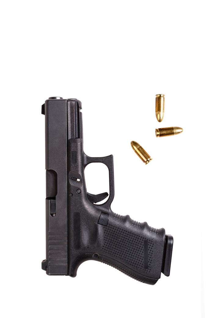 Stockfoto pistool