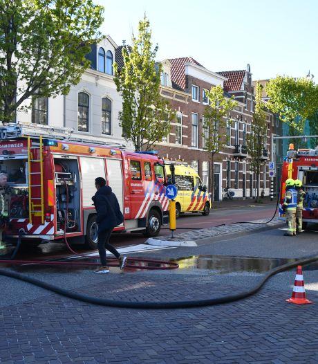 Woningbrand in Stationsstraat Middelburg