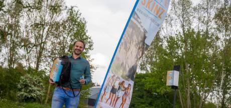 Niet alleen festivalgangers smeren gratis in strijd tegen huidkanker door zonnebrand; nu ook sporters, werkers en scholieren