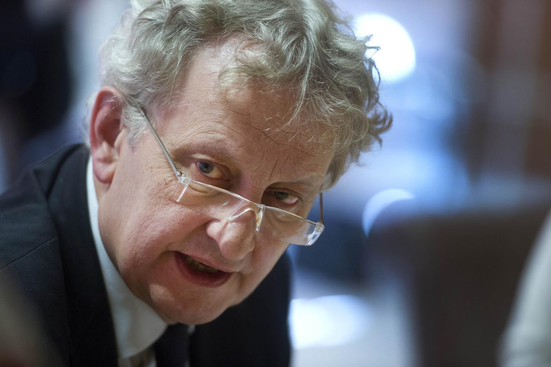De burgemeester van Amsterdam, Eberhard van der Laan.