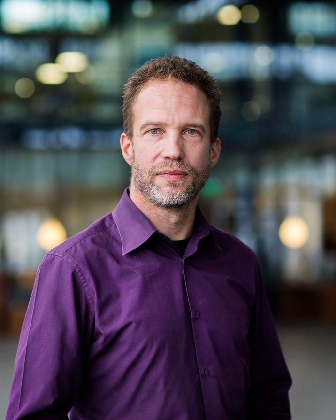 Sebastiaan Overeem (somnoloog/slaaparts Centrum voor Slaapgeneeskunde Kempenhaeghe en hoogleraar TU Eindhoven. Foto: Vincent van den Hoogen