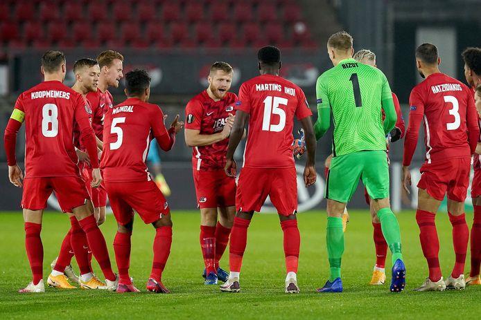 29-10-2020: Voetbal: AZ v Rijeka: Alkmaar AZ Alkmaar