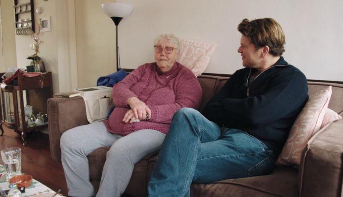 Beau op bezoek bij de 84-jarige Marie