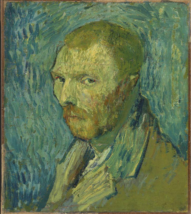 Zelfportret (1889), Vincent Van Gogh Beeld Nasjonal Museet Oslo