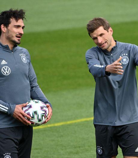 Verbanning voorbij, verschoppelingen terug: Duitsland sluit Müller en Hummels in de armen