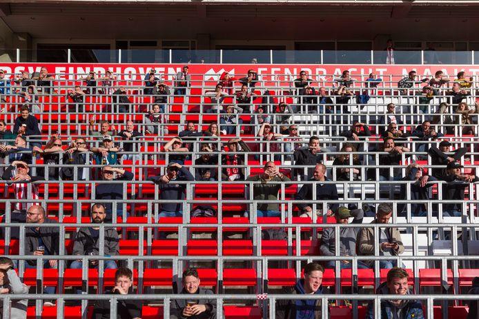 PSV-FC Groningen: afgelopen zaterdag waren 4.000 mensen welkom.