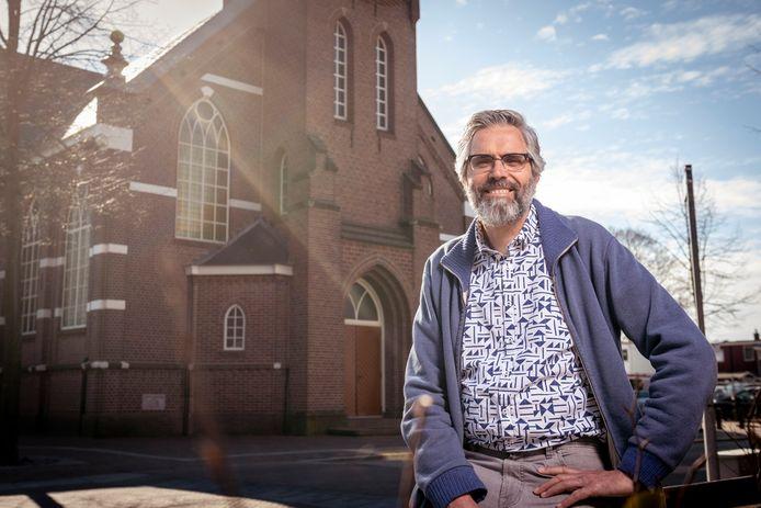 Predikant Henk Jansen uit Ermelo.