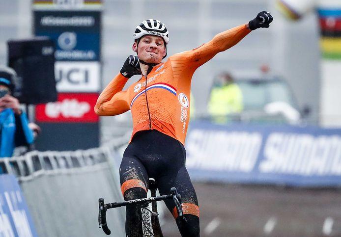 Wordt Mathieu van der Poel  straks wereldkampioen in Gelderland?