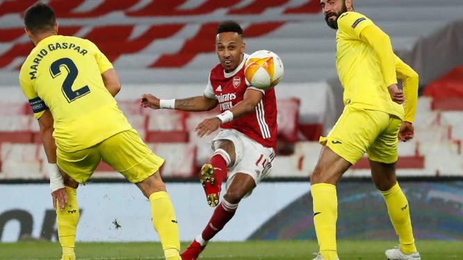Geen 'All England'-finale in de Europa League: matig Arsenal komt niet tot scoren tegen Villarreal