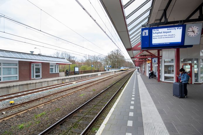 Het station in Ede.