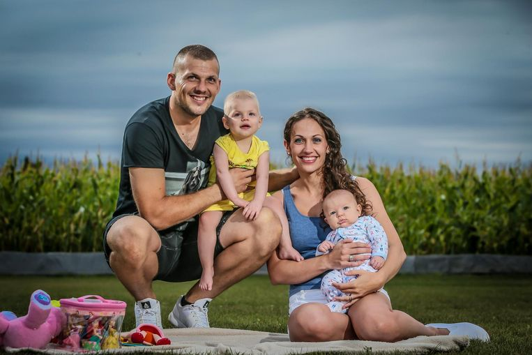 De familie Verhulst Beeld PHOTONEWS/Pieter-Jan Vanstockstraeten