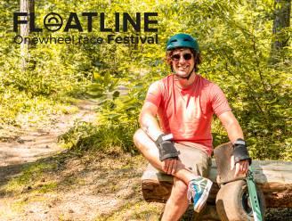 'Onewheelers' en dj's op Floatline