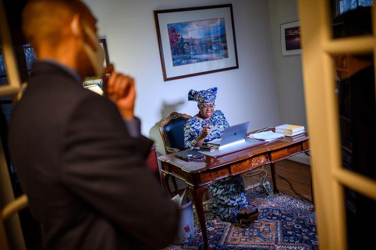 Ngozi Okonjo-Iweala. Beeld AFP