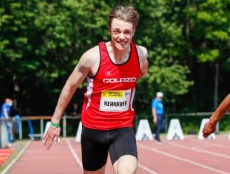 Niels Kerkhofs vicekampioen bij de beloften op de 200m
