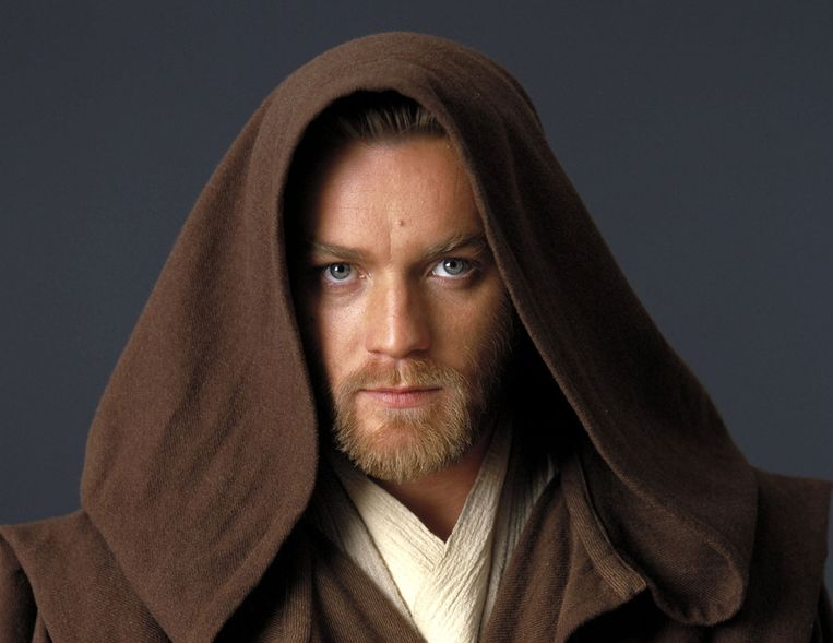 Ewan McGregor als Obi-Wan Kenobi in Star Wars: Episode II: Attack of the Clones Beeld ANP