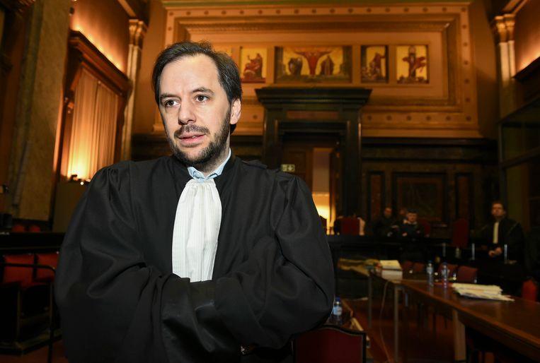 Advocaat David Ramet verdedigt de nabestaande van het vermoorde Israëlische koppel Riva.