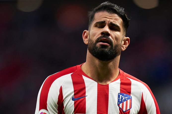 Diego Costa komt voorlopig niet in actie.