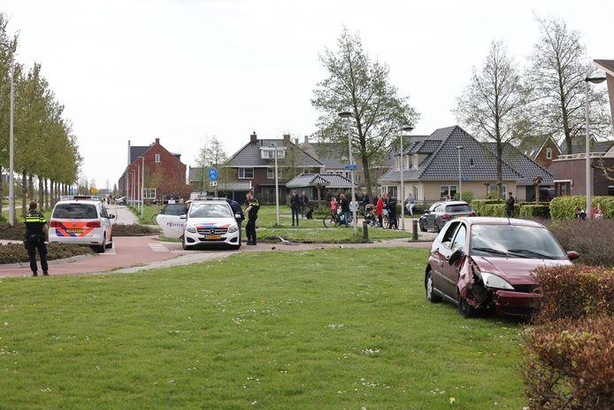 Na een achtervolging zijn vier mannen zondag opgepakt in Kampen.