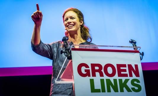 Partijvoorzitter Marjolein Meijer van GroenLinks.