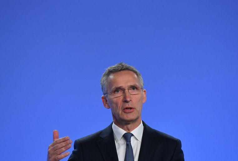 Secretaris-generaal van de NAVO Jens Stoltenberg.