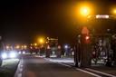 In het Groningse Niezijl zijn tientallen boeren rond 22.00 uur naar Den Haag getrokken om te gaan protesteren tegen de stikstofuitspraak.
