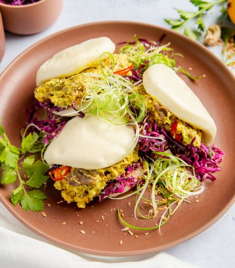Wat Eten We Vandaag: Bao buns met rendang