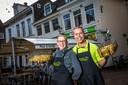 Marco en Ingeborg van het Swolsch Friethuys. De friettent eindigde in 2017 bovenaan de nationale friettest van het Algemeen Dagblad. Dit jaar wint ze een Gold Award in de categorie Cafetaria.