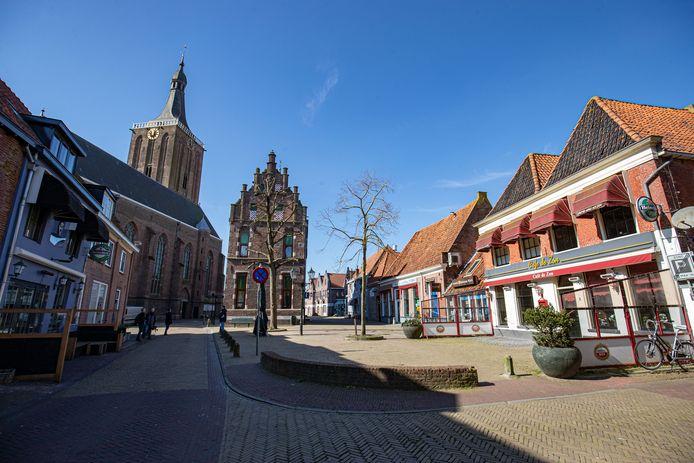 Bijna alle winkels in Hasselt zijn open, maar het is stil op straat.