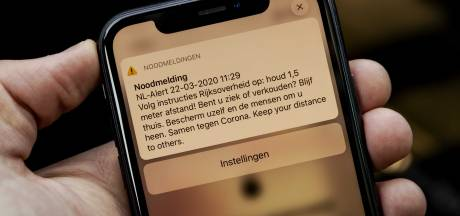 NL-Alert-bericht 'Blijf thuis' kwam uit Tilburg: 'Het is een zwaar wapen'