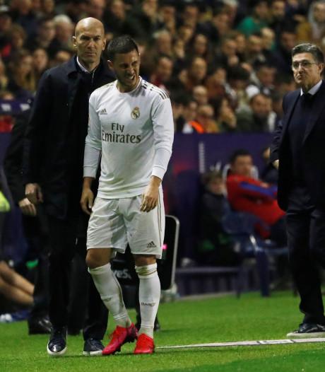 """Zidane reste optimiste pour Hazard: """"J'espère qu'il jouera avant la fin de la saison"""""""